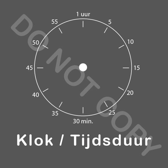 ZW/W - Klok/Tijdsduur - Avond