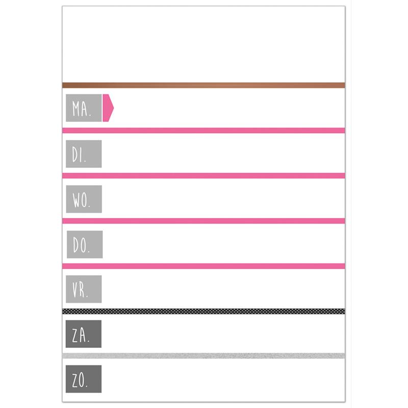 Planbord Pink! - HO