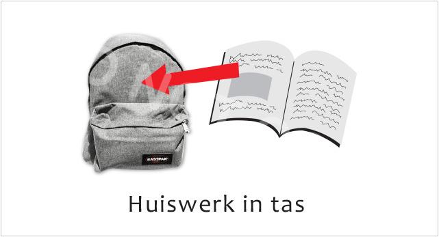Huiswerk in tas J - STV