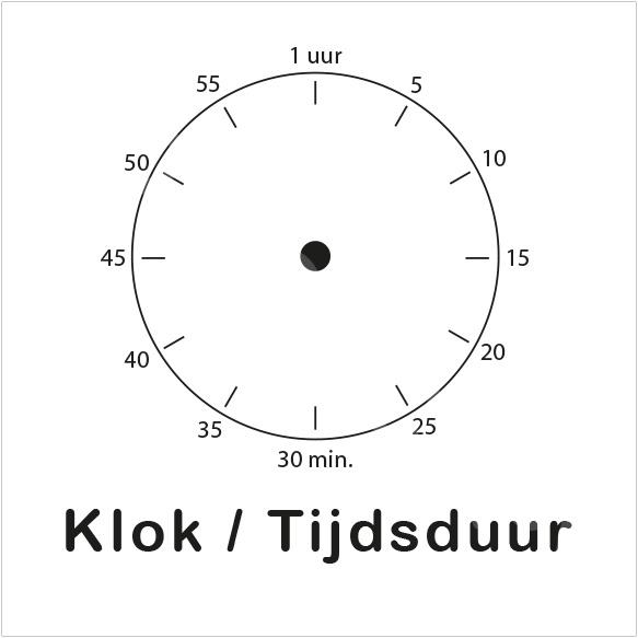 ZW/W - Klok/Tijdsduur - Ochtend