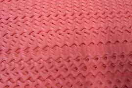 Zigzagband lichtroze 5mm