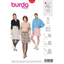 Burda damespatroon 6154