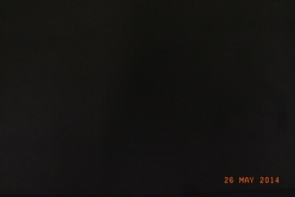 Katoenlycra zwart