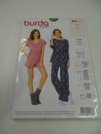 Burda damespatroon 6261