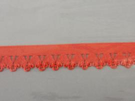 Kant elastisch 13 mm rood
