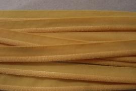 Paspel elastisch geel