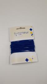 Koordelastiek 1.5mm koningsblauw