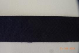 Keperband marineblauw