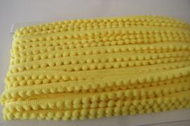Bolletjesband geel klein