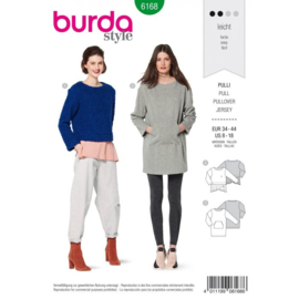 Burda damespatroon 6168
