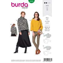 Burda damespatroon 6163