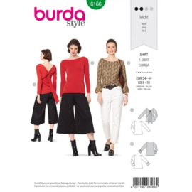 Burda damespatroon 6166