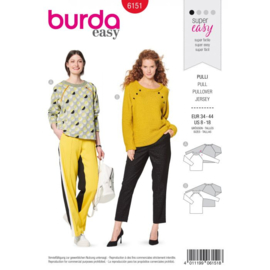 Burda damespatroon 6151