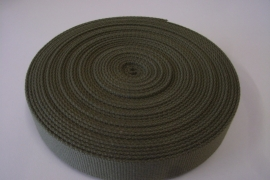 Tassenband kaki 30mm