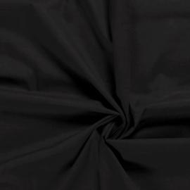 katoenvoile zwart