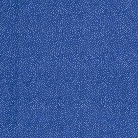 Blauw stipjes kriskras