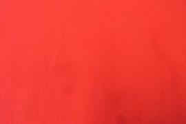 Katoen effen rood