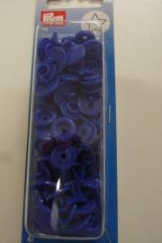 Colour snaps blauw 1st STER