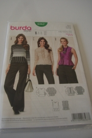 Burda damespatroon 6567