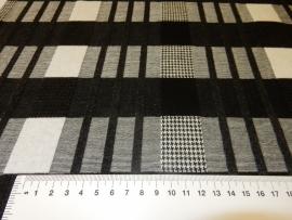 Punta squares zwart wit