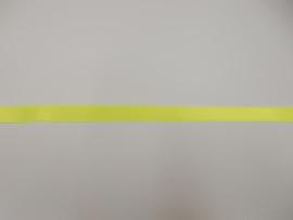Satijnlint fluo geel 10mm