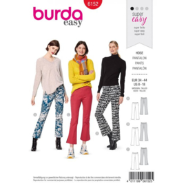 Burda damespatroon 6152