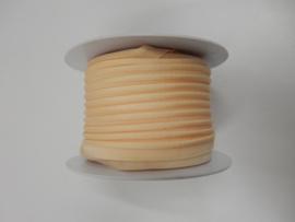 Paspel elastisch zalmroze