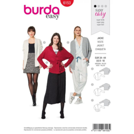 Burda damespatroon 6153