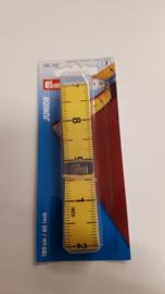 lintemeter cm en inch