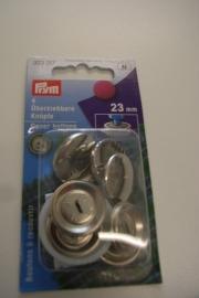 Overtrekbare knopen 23 mm