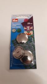 Overtrekbare knopen 29 mm