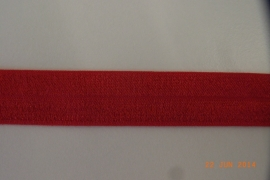 Rekbaar biais/galon rood