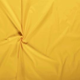 Katoen effen geel