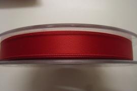 Satijnlint rood 10mm