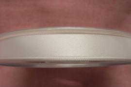Satijnlint wit 10mm