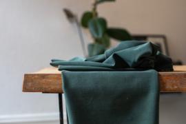 Soft stretch twill green