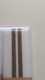 Gallon 3 cm met gouden strepen - 125 cm