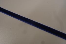 Fluweelband koningsblauw 7mm