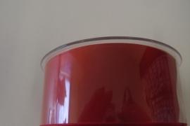 Satijnlint rood 40mm