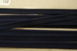 Paspel elastisch marineblauw