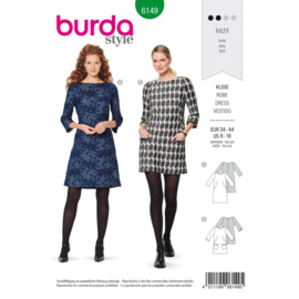 Burda damespatroon 6149