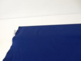 Katoen effen koningsblauw