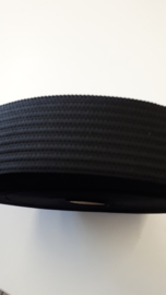 Sierelastiek 40 mm zwart