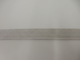 Biais lichtgrijs 20mm