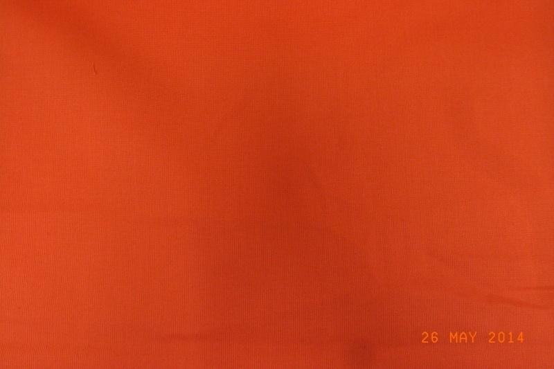 Katoen effen oranje