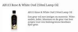 Rose & White Oud