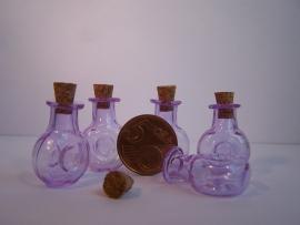 GFV-02pa Paarse 'cognac' fles