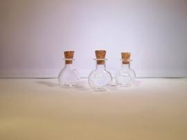 GFV-03 Ronde, afgeplatte fles (2,4x1,9cm)