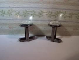 Manchetknopen per paar (12mm)
