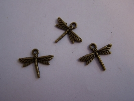 Libelle brons